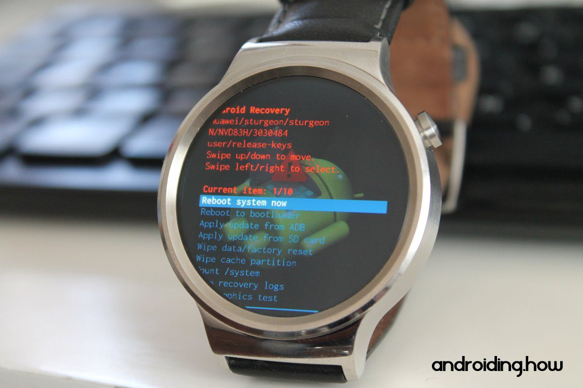 Android Wear recovery mode